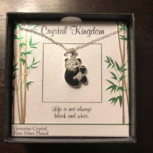 Jewelry - Crystal Kingdom Panda Necklace